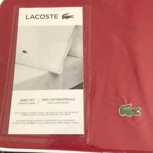 Lacoste Queen bed sheet set